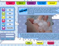 Precipitation for Kids website