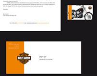 Harley Davidson Corporate I.D System (Student Work)