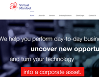 Virtual Mindset Website Redesign