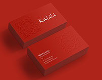 Visual Identity: Kalili Restaurant