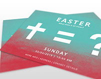 Easter Postcard Invitations