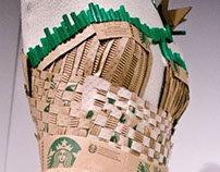 Starbucks Recycled Paper Dress