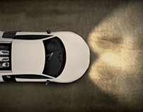 iTRACK21 Title Animation With Car