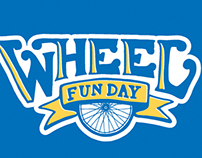 Wheel Fun Day Logo Concept