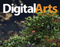 Digital Arts Magazine Cover