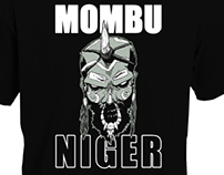 T shirt design for Mombu!