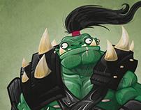 Orc Commander!