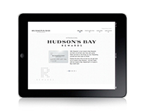 HUDSON'S BAY NEW REWARDS BRAND 2013