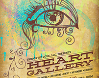 Gig Posters - The Heart Gallery