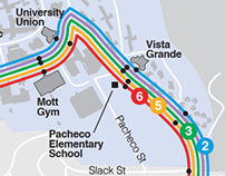 San Luis Obispo Bus Map