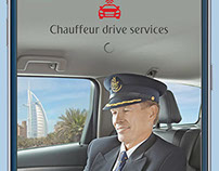 Chauffeur drive service app for Emirates Airline Pilots