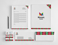 Mosaic Studio Corporate Identity