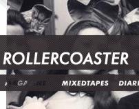 Rollercoaster magazine – webdesign