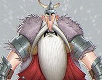 The Boorish Vikings: Character Design