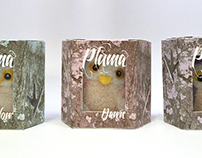 Pluma collective owls: Dusk packaging