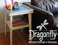 Dragonfly: Upcycled Furniture & Keepsakes by KupiArt