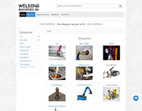 Business Website - Techno Support Ltd - Welding Machine