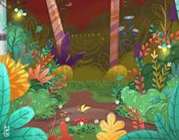 """cover children's book """"Portal de Cuentos Fantabulosos"""""""