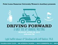 PLNU  Driving Forward: A Golf Tee & Annual Meeting