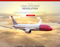 Norwegian Dreamliner Showroom