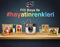 Filli Boya - #hayatinrenkleri Instagram Uygulaması
