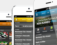 Sports Betting iPhone Application
