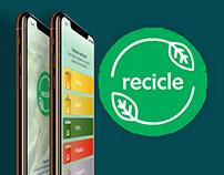 APP Recicle - IOS - UX/UI