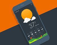 New Perspective weather app.