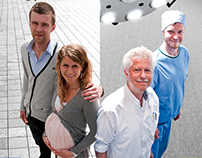 Ikazia hospital Rotterdam - corporate campaign concepts