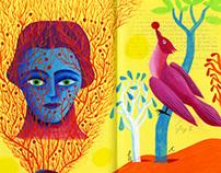 Paintings on Books VII