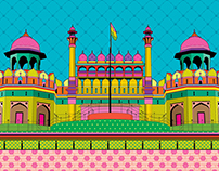 Red Fort - Wall Art