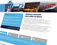 1º Corporate Website