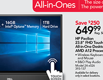Office Depot - Featured Computers Main Insert Spread