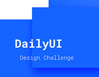 Daily UI Challenge Designs