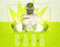 Sin Cara Youtube Channel Design - Avatar & Banner