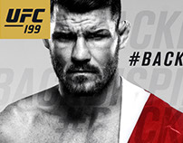 BackBisping Social Media Hashtag Graphics