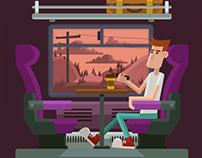 Train to Heuston