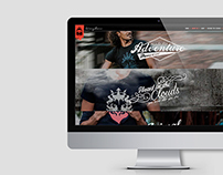 Kingdom Wear Web Design
