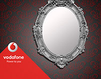 Vodafone red Event (photo Frame)
