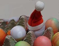 fun card spanning seasons- Eggstra-ordinary