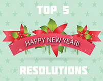 Top 5 New Year Resolutions..!!!