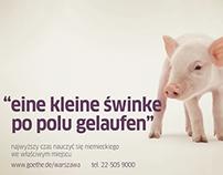 Eine kleine Swinke - Goethe-Institute campaign