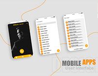 Mobile App UX|UI Design