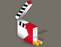 Cartel Cine Libre de Tabaco