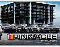 Pinnacle Custom Auto Logo