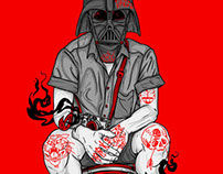 UBER COOL - PHFAT / DARTH VADER POSTER