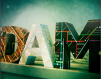 Paper folding letters: Amsterdam