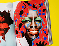 Illustrations on fashion photography and ads