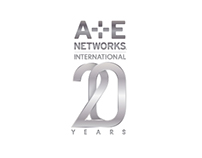 A+E Networks International 20th Anniversary logo