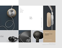 Bang & Olufsen redesign - Design - Lee-jungmee